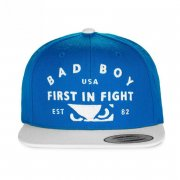 Bad Boy Snapback First In Fight blue